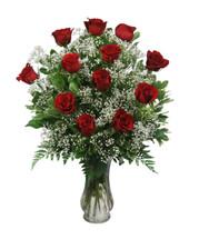 Dozen Roses - Valentine's Day (Red)