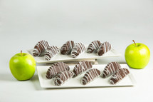 1 Dz. Chocolate Dipped Apples