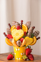 Busy Bee Fruit Arrangement