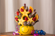 Smiles for Miles Fruit Arrangement