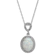 Opal Jewel Necklace (October Birthstone)