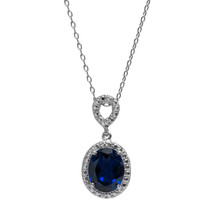 Sapphire Jewel Necklace (September Birthstone)
