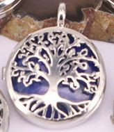 Tree of Life Stone Locket