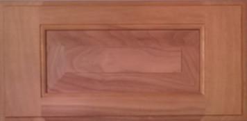 DTDF 1058HZ - Drawer Front Solid Wood - Walnut