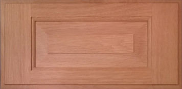 DTDF 1058HZ - Drawer Front Solid Wood - White Oak