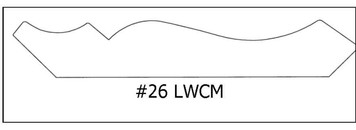 # 26 LWCM 11/16 x 4 ¼ x 8'