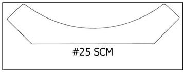 #25 SCM 7/8 x 3 ¾ x8'