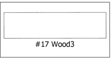 #17 Wood 3 - ¾ x 3