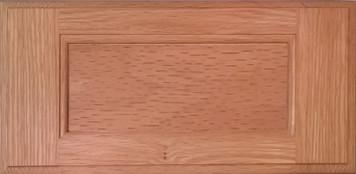 DTDF 1014HZ - Drawer Front - Red Oak Plywood
