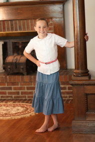 Girls' Tiered Skirt
