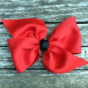 The April- Red with Black Knot