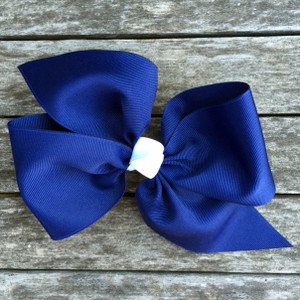 The April- Navy with White Knot