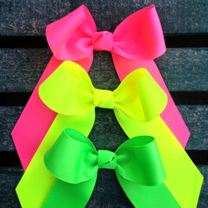 Neon Pink, Yellow and Green