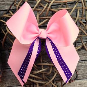 Light Pink/Purple Swiss