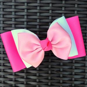 Hot Pink/White/Light Pink