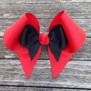 The Elizabeth- Red & Black