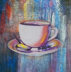 Fresh New Start 6 - Handpainted Art Painting - 30in X 30in
