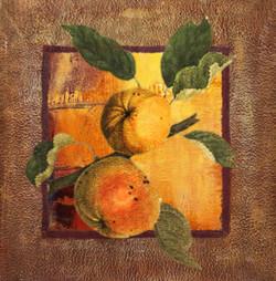 Fruit Sample 5 - Handpainted Art Painting - 28in X 28in