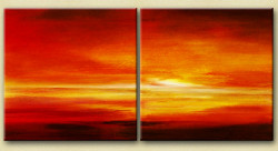 31GRP113 - Handpainted Art Painting - 48in X 24in