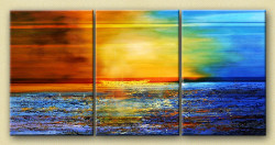 31GRP101 - Handpainted Art Painting - 48in X 24in