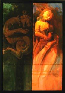 """,Naari_02 36"""" X 48"""",ART_1391_2936,Artist : Arun Suryawanshi,Acrylic on Canvas"""