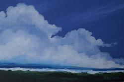 Landscape,Moving with the Flow,ART_1486_12142,Artist : RAJEEV MAHAJAN,Oil