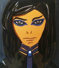 Anime manga cartoon characters,Re L Mayer,ART_1755_14390,Artist : Akshata  Sawant,Acrylic