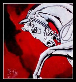 MODERN ART / HORSE / WILD LIFE / FENG SHUI,HORSE  ,ART_1033_14509,Artist : PARESH MORE,Acrylic