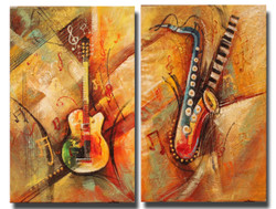 Music ,Music art 001,ART_1522_14433,Artist : Ram Achal,Acrylic