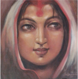 ,Mother 2,ART_836_14300,Artist : Debkumar Bhattacharyya (Seller),Acrylic