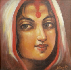 ,Mother 1,ART_836_14299,Artist : Debkumar Bhattacharyya (Seller),Acrylic