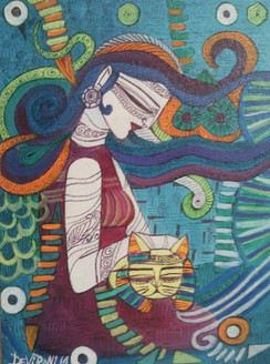 ,Love,ART_836_4130,Artist : Debkumar Bhattacharyya (Seller),Acrylic