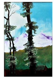 ,Land Scape 3,ART_836_4129,Artist : Debkumar Bhattacharyya (Seller),Acrylic