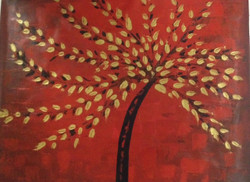 Tree of Life 5 - 40in x 32in,RTCSC_13_4032,,Golden Tree,Popup Tree,Oil Colors,Museum Quality - 100% Handpainted Buy Painting Online in India.