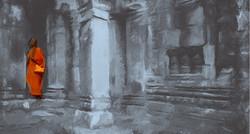 buddha paintings,56Buddha19,MTO_1550_15244,Artist : Community Artists Group,Mixed Media