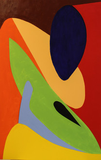 ROJO,VERDE,AZUL,AMARILLO, abstract, figurative, multi color, modern paintings,MENINA,ART_1593_13423,Artist : Jose Maria Palacin Calvo,Acrylic