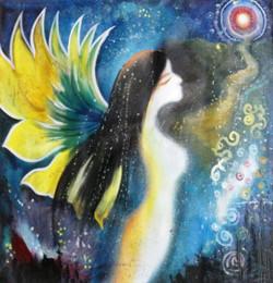 ,Angel,ART_1229_2224,Artist : Pallavi Jain,Acrylic