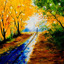 Nature,Nature love,ART_2235_17677,Artist : Amar Yadav,Oil