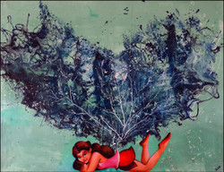 wings, feminine,transformation,ART_2580_18977,Artist : Ankita Goenka,Mixed Media