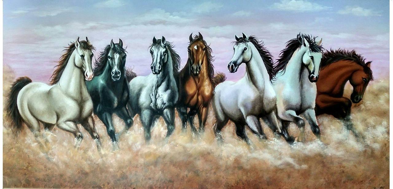 Buy VASTU 7 HORSES Han...