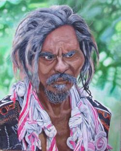 old man, portrait, ,Life,ART_3144_21088,Artist : Ratul Das,Oil
