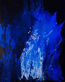 Fire 1 (ART_3707_23746) - Handpainted Art Painting - 24in X 30in