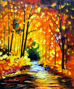 Hidden Emotions (FR_1523_24244) - Handpainted Art Painting - 24in X 30in