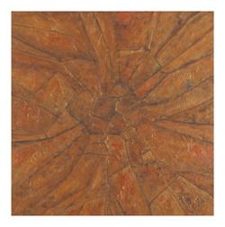 Eyes of the Queen Bee (ART_3780_24860) - Handpainted Art Painting - 24in X 24in