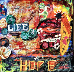 Hope  (ART_4255_26156) - Handpainted Art Painting - 10in X 12in
