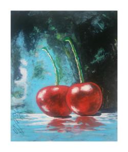 Sweetness-2 (ART_4214_26182) - Handpainted Art Painting - 18in X 22in