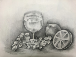 Live art (ART_4295_26495) - Handpainted Art Painting - 16in X 11in