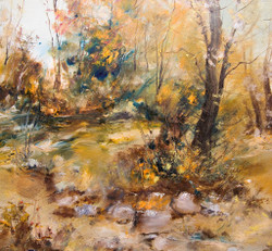 Autumn In The Forest (PRT_150) - Canvas Art Print - 23in X 21in