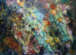 Goldmine - 27in X 19in,ART_GHBT08_2719,Artist Ganesh Bhat,Abstract - Buy paintings online in india
