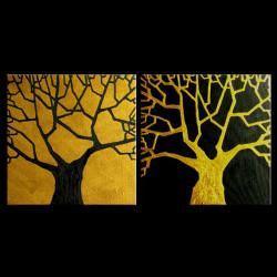 Modern206 - 40in X 20in,Modern206_4020,Black, Dark Shades,100X50 Size,Modern Art;Latest Collection Art Canvas Painting